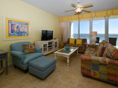 Photo for Beach-Front Condo in Sought After Family Friendly Resort: Free Beach Service! 😎