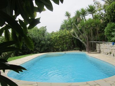 Photo for VILLA 5 MIN FROM THE SEA WITH PRIVATE SWIMMING POOL-GARDEN CAL ME.