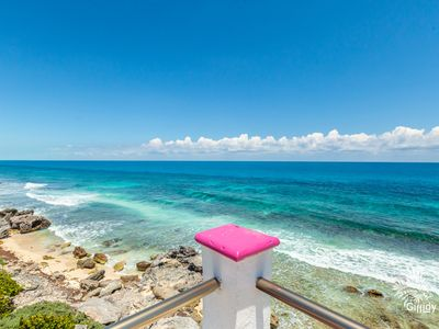 Photo for Caribbean Oceanfront Studio Condo With Rooftop Pool
