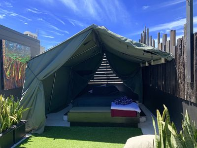 Photo for The Rooftop Manly -  Glamping experience