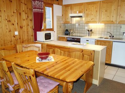 Photo for 2-bedroom apartment 3* for maximum 8 persons located at approximately 600m from the lift in a calm a