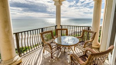 Photo for Gourmet Kitchen! Unbelievable Views! Steps to Beach, Resort Amenities