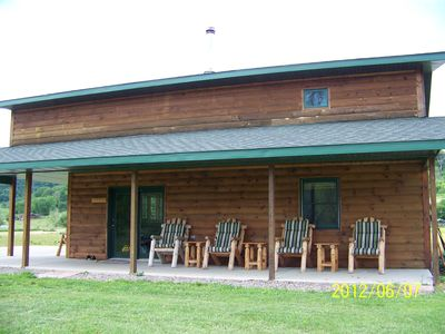 Photo for 3BR Cabin Vacation Rental in La Farge, Wisconsin