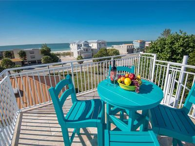Photo for Private Pool, Gulf Views, and November Savings! Beachside Oasis: 5 BR / 3.5BA