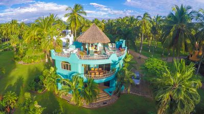 Villa Reyes - secluded home located on 5 mile beach ... in a coconut plantation!