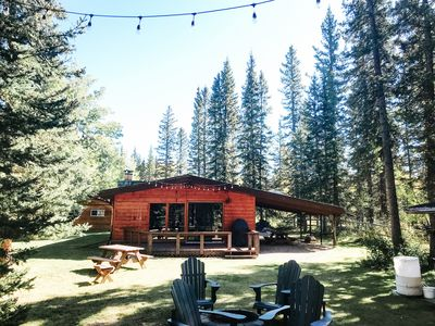 Photo for Riverside Bragg Creek Cabin in the Heart of Town