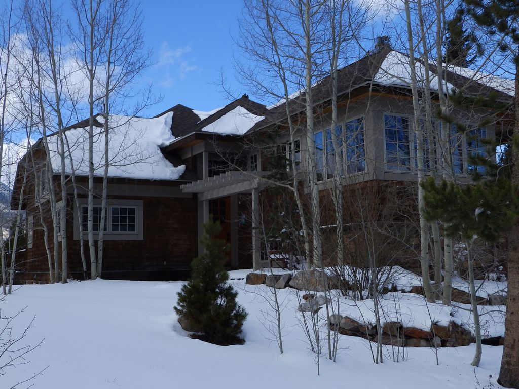 6 bedroom home on lake dillon in frisco co homeaway for Frisco colorado cabin rentals