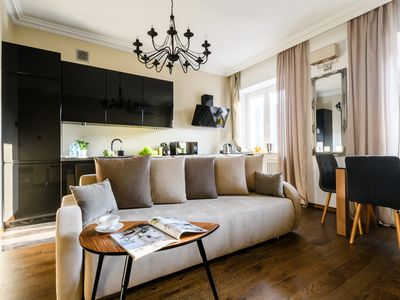 Photo for Shakespeare apartment by mythings (40 sqm, 1BR in the city Center, quiet'n glam)