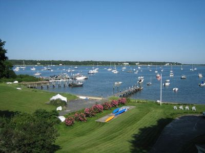 Photo for Location, Location --beachfront property overlooking Cotuit Harbor.