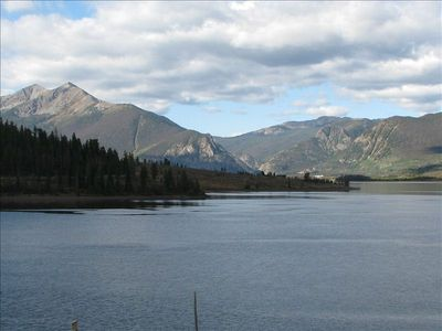 Dillon Lake in the Summer