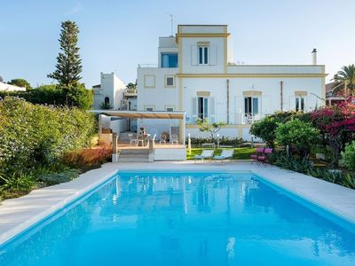 Photo for large villa rental with pool, sicily, trapani