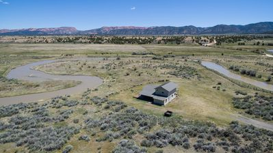 Photo for Secluded Luxury Riverfront Ranch on 9 Acres between Bryce Canyon & Zion