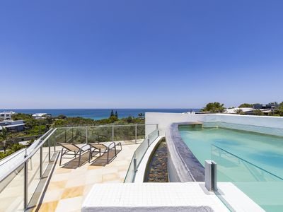 Relax and enjoy C-Vues from the rooftop pool