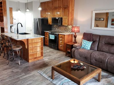 Photo for SPECIAL RATE FOR REVIEWS.-Newly Listed & Renovated! 2 King Suites, Private Ground Floor Patio & WiFI