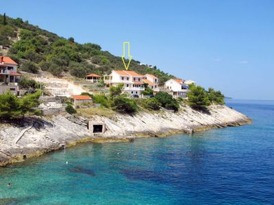 Photo for Apartment Borovina (KOR205) in Korcula/Korcula - 4 persons, 2 bedrooms