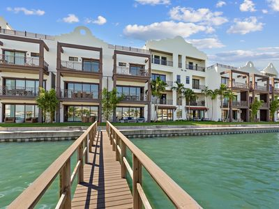 Photo for RESORT STYLE WATERFRONT OASIS W/ 3 BR/2.5 B & boat slip!!!