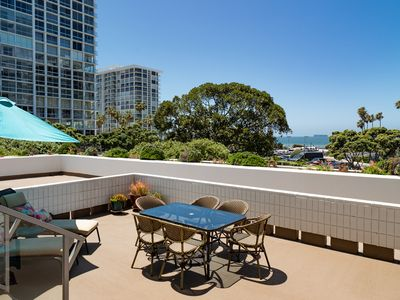 Stunning Large Coronado Shores Terrace Condominium