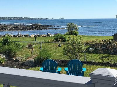 Photo for Beautiful ocean views & walking distance to the beach.