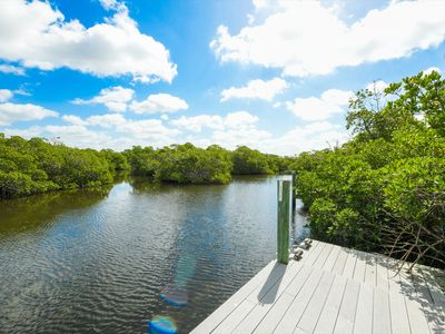 Photo for Waterfront with Private Dock on Siesta Key