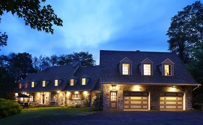 Photo for Tremblant Manor - 9 bdr home with indoor pool in the village