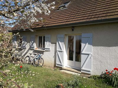 Photo for A storey house, 80 m², for 6 persons, with a closed garden at about 8mn by foot