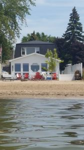 Photo for WATERFRONT HOME WITH BEAUTIFUL SANDY BEACH, LOCATED IN TOWN