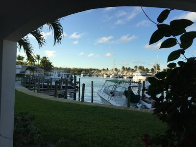Photo for Marina view condo with a boatslip
