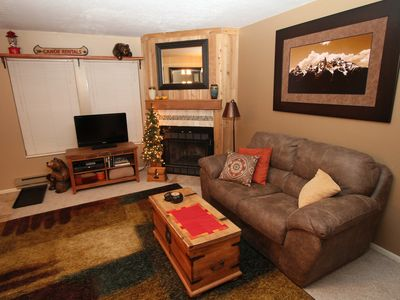 Photo for Newly Remodeled! Best Unit In Wolf Lodge! The Ski Season is here! 2 Bed, 2 Bath