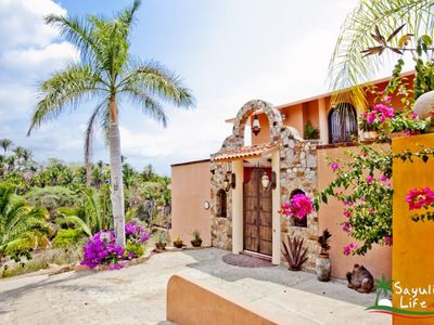 Photo for Beautiful Panaramic Oceanview, 3 bedroom house in Sayulita Mexico