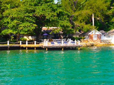 The Wharf House.  US$900 per day for the entire property.