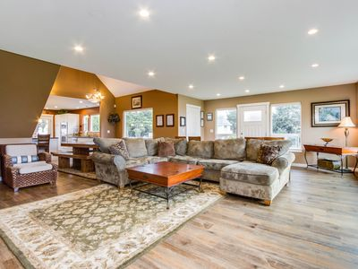 Photo for Huge, luxury home w/game room, gourmet kitchen, space for 16