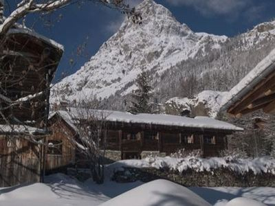 Photo for chalet on the hill in vallorcine for 7 people