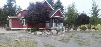 Photo for Vintage Island Home 2 Blocks From Town. 4 Bdrs, 2 Kitchens, 3 Bath. Can Sleep 14