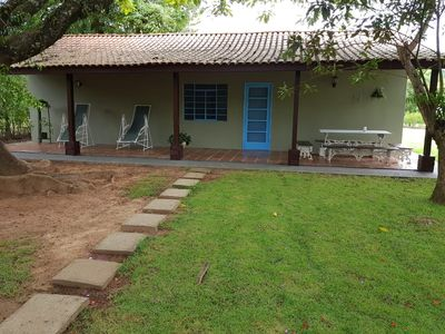 Photo for Charming and cozy farmhouse in the interior -130 km from Sao Paulo 12x s / interest