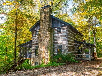 Photo for Covered Bridge Log Cabin