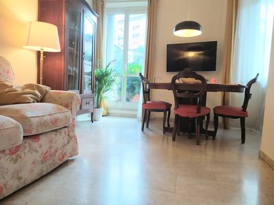 Photo for apartment 5 bedrooms 4 bathrooms between Trastevere and Testaccio with large terrace