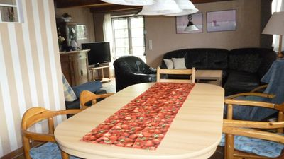 Photo for Family friendly apartment in the Frisian house with dog