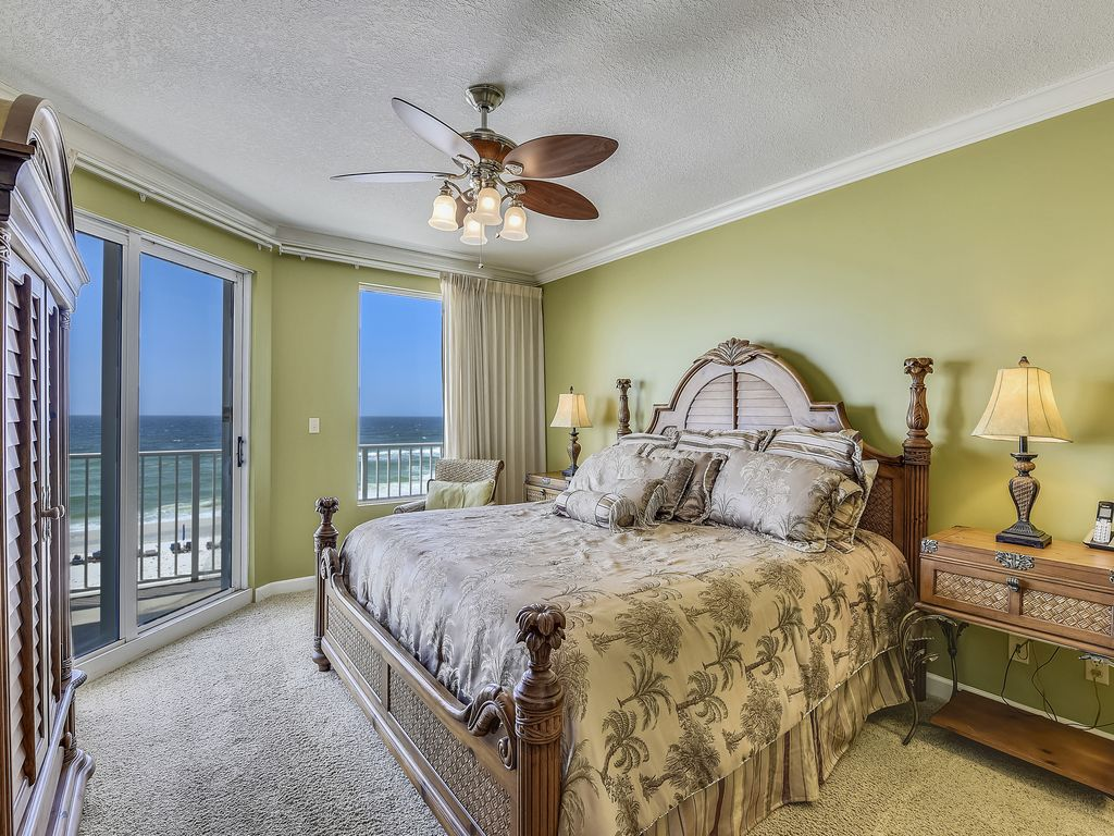 Marisol 202 3br Sleeps 8 Beachfront W Balcony Amp Jacuzzi