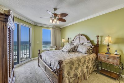Master Bedroom - Master Bedroom with King Size Bed and Gulf view
