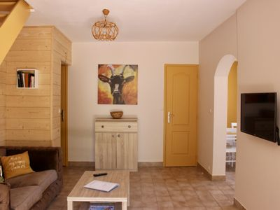 Photo for Gîte L'Olivier, quiet in Southern Ardèche with Pool and Wifi