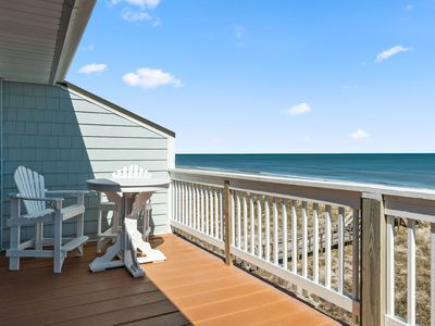 Photo for OCEAN FRONT! Completely Remodeled in 2020, Top Floor Condo with Large Balcony!