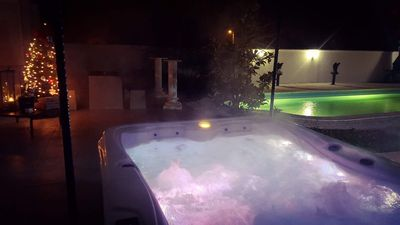 Photo for Luxury pool villa -8 sleeps with outdoor whirlpool