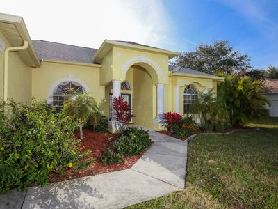 Photo for Lovely spacious home overlooking lake to enjoy Florida wildlife and sunsets