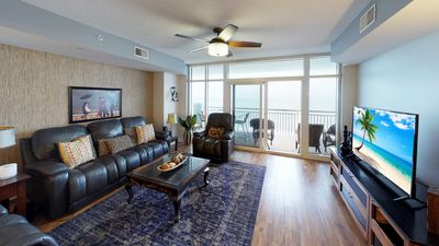 Photo for Amazing 4 Bedroom 10th Floor Unit with 180 Degree Sweeping Ocean Views!