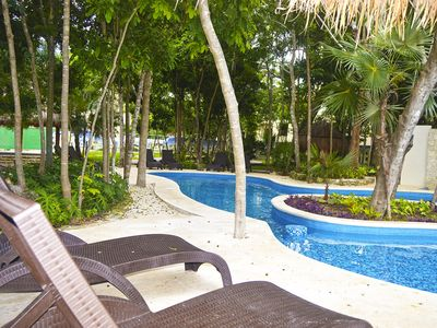 Photo for NICE 3 BR HOME palma real Puerto Morelos