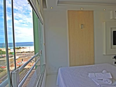 Photo for Rio Spot Homes-C033 Modern vacation apartment overlooking Copacabana beach