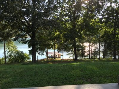 Photo for NORRIS LAKE FRONT RENTALS : CAMP RUN A MUK-LAKE FRONT & A GREAT LOCATION
