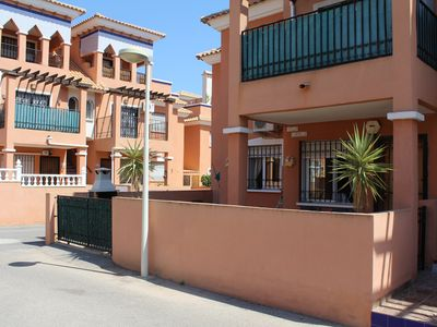 Photo for Apartment In Playa Flamenca, Costa Blanca South. A/C, Pool, Wifi, Gated Complex
