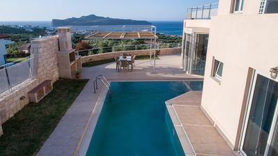 Photo for Thalia Seaview Villa  With Jacuzzi & Private Pool