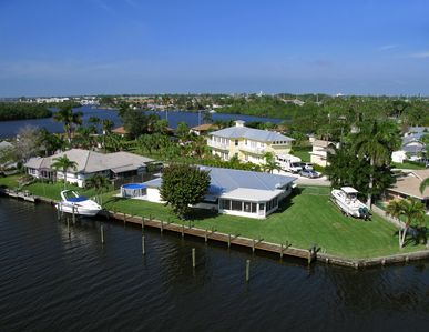Photo for Treasure Coast  Waterfront  Home with Private Deep Water Dock